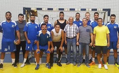 تقدم فوج اطفاء بيروت على الشباب حارة صيدا في نصف نهائي بطولة كرة اليد