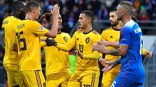 بلجيكا تتغلب على إيسلندا في عقر دارها