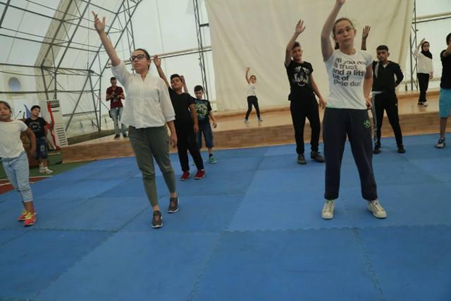 مسرح إسطنبولي اختتم مشروع تعزيز المهارات المسرحية