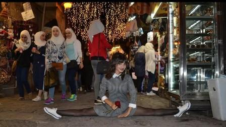 راقصة بالية سورية تبعث رسالة للعالم من قلب دمشق