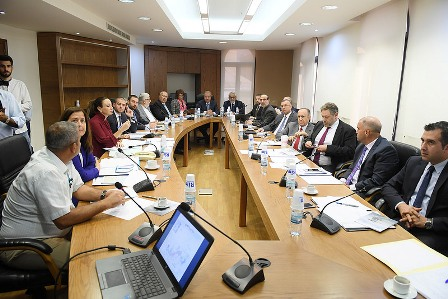 لجنة الشؤون الخارجية اقرت ابرام اتفاقية استصناع مشروع تطوير وتوسعة مرفأ طرابلس