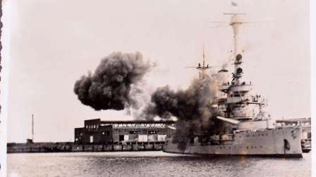 شاهد.. أول قذيفة تطلق في الحرب العالمية الثانية