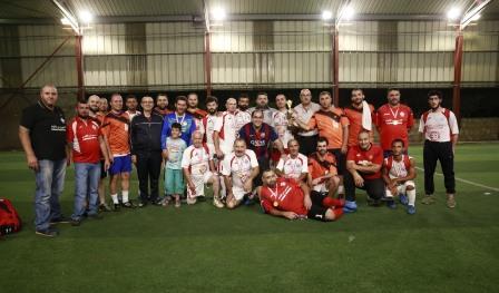 كرة قدم في النبطية بين اساتذة كلية العلوم والناجين من الالغام
