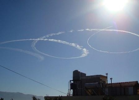تحليق مكثف لطائرات اسرائيلية معادية في اجواء الجنوب والجبل