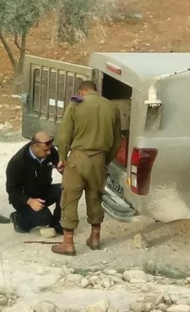 التحقيق مع قائد بالشرطة الفلسطينية لتغييره إطار عربة لجيش العدو الإسرائيلي