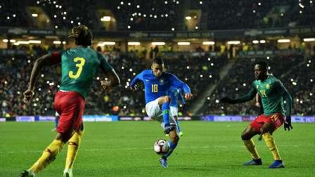 البرازيل تواصل انتصاراتها بالفوز على الكاميرون