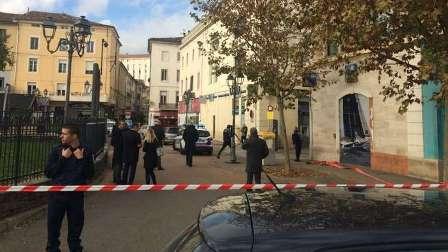 امرأة تهدد بتفجير بنك بجنوب فرنسا