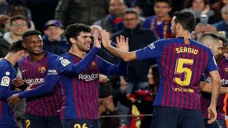 بدلاء برشلونة يتأهلون إلى ثمن نهائي كأس إسبانيا