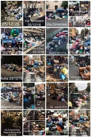 أحياء روما تحاصرها النفايات
