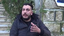 جندي سوري مفاجئا مشيعيه: دفئوني دفئوني!
