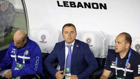 الاتحاد الآسيوي لكرة القدم يعاقب مدرب لبنان