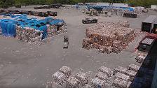الصين تؤسس 100 قاعدة عملاقة لمعالجة النفايات المحلية