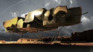 مهندس مصري يصمم مستعمرة على القمر بطريقة