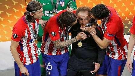 اعتقال مدرب اللياقة البدنية لأتلتيكو مدريد