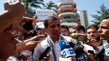 غوايدو يعلن عن خطته لإخراج فنزويلا من أزمتها