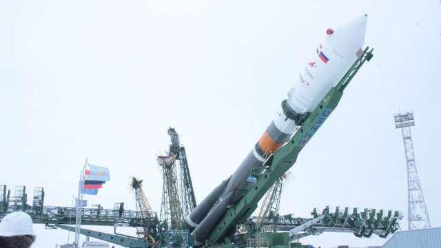 نجاح إطلاق القمر الصناعي المصري على متن صاروخ سويوز الروسي