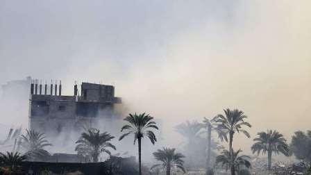 مصر.. انهيار مصنع فوق العمال في محافظة المنوفية
