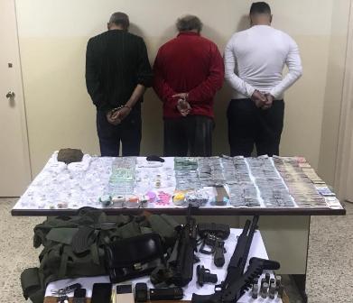 قوى الامن: توقيف اخطر 3 تجار مخدرات في بيروت وجبل لبنان