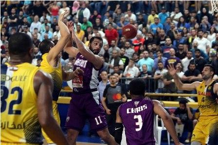 الرياضي بيروت استعاد لقب بطولة لبنان في السلة