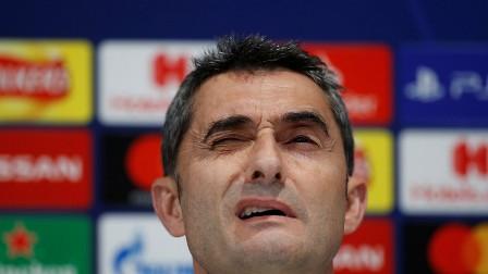 مدرب برشلونة: تعرضنا للدهس من قبل ليفربول