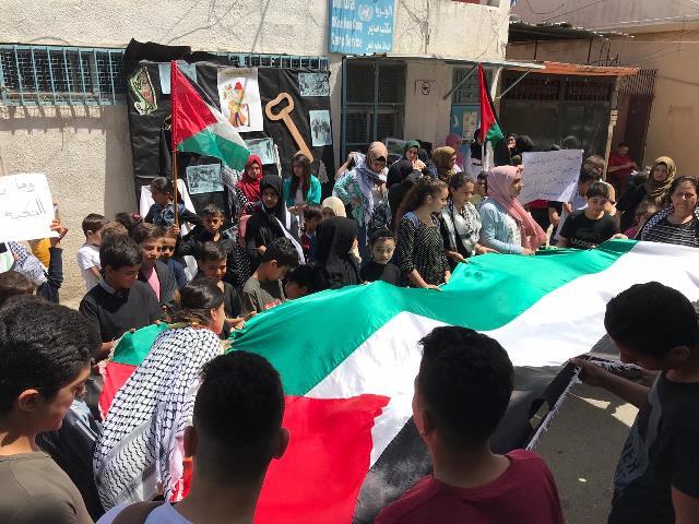 النجدة الاجتماعية وجمعية التضامن تحييان الذكرى 71 لنكبة الشعب الفلسطيني