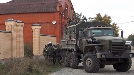 الأمن الروسي يقضي على مسلحين اثنين كانا يعدان لعمل إرهابي