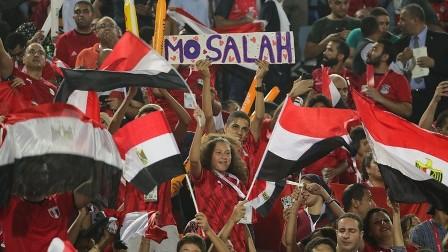 مشهد راق للجماهير المصرية عقب نهاية مباراة الكونغو
