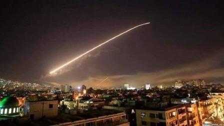 غارات للعدو الاسرائيلي ليلا على سوريا توقع شهداء  وجرحى