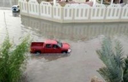 أمطار غزيرة تتسبب بفيضانات في واشنطن