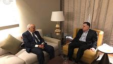 السراج وسلامة يؤكدان ضرورة استئناف العملية السياسية في ليبيا