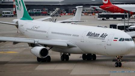 الطائرات الإيرانية تتعرض للصعوبات في المطارات التركية