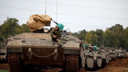 العدو الاسرائيلي: نستعد لعملية عسكرية واسعة محتملة في غزة