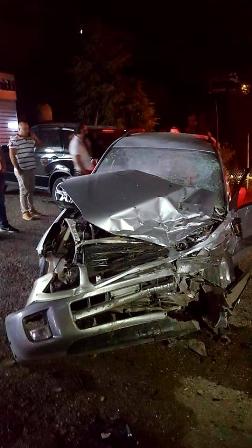 ثلاثة جرحى في حادث سير على طريق عام فيطرون