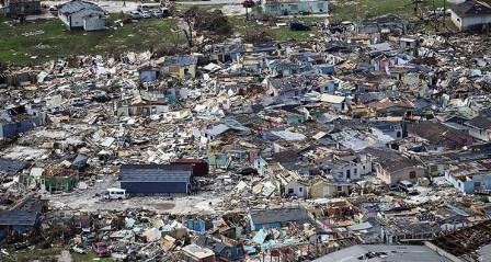جزر الباهاما: 2500 مفقود بعد الإعصار دوريان