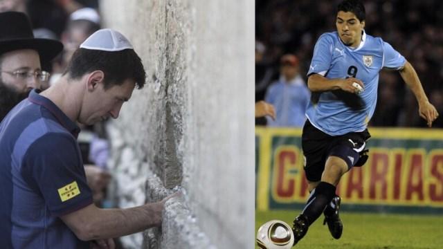 أصوات تطالب ميسي وسواريز بعدم التواطؤ مع جرائم حرب الاحتلال الاسرائيلي