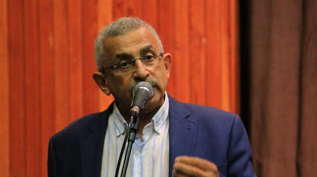 أسامة سعد في الاجتماع الموسع لدعم الانتفاضة يدعو لتزخيم الانتفاضة من أجل تمكينها من مواجهة السلطة القائمة، وإنقاذ الوطن، وتحقيق مطالب الناس