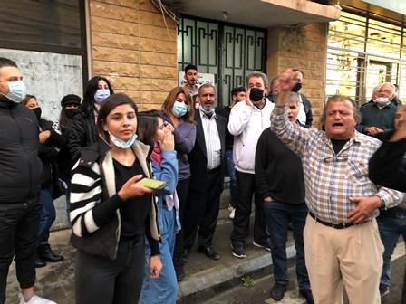 اعتصام امام محكمة صور الجزائية للمطالبة باستقلالية القضاء