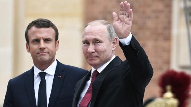 بوتين يبحث مع ماكرون هاتفيا الاجتماع المرتقب لقادة روسيا وأرمينيا وأذربيجان