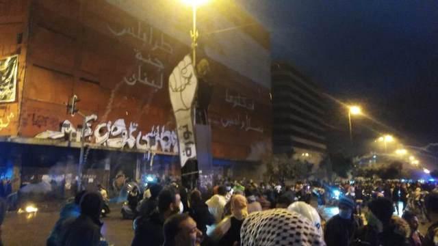 ثلاثة جرحى خلال المواجهات في محيط سرايا طرابلس