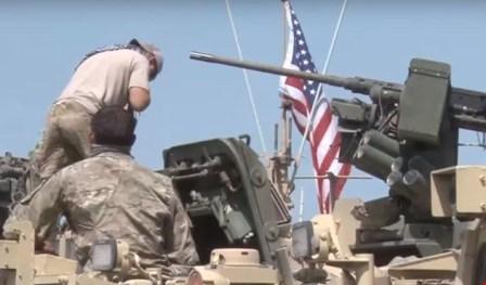 بالفيديو: قوات أميركية تدخل القامشلي شمال سوريا وتنتنشر على الحدود مع تركيا