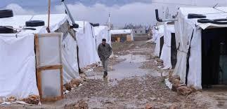 مناشدة وزارة الصحة والصليب الأحمر تلافي تفشي كورونا في مخيم للنازحين في السمونية