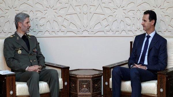 توقيع إتفاقية للتعاون العسكري والدفاعي بين سوريا وإيران