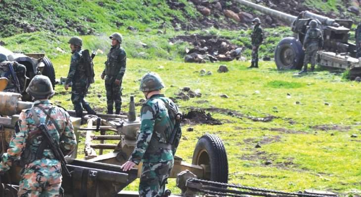 الجيش السوري يدمر الخطوط الأولى للتنظيمات الإرهابية غرب حلب