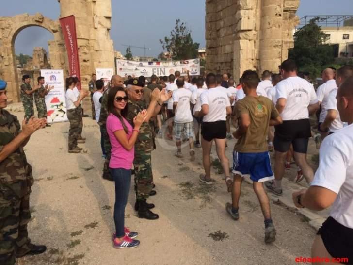 سباق في رياضة الركض لمسافة 5 كلم في ساحل جبيل بإشراف الجيش اللبناني