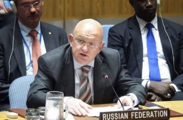 مندوب روسيا الدائم لدى الأمم المتحدة: إيران موجودة في سوريا بطلب من الحكومة