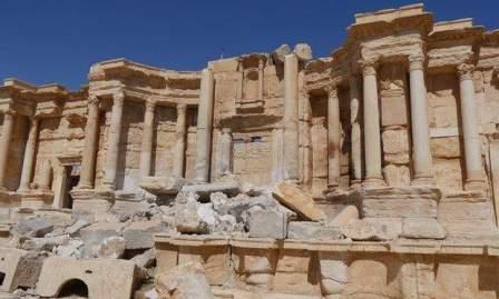 من داخل تدمر بعد الاحتلال الداعشي الثاني هكذا بدت المدينة