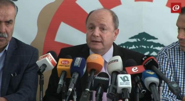 بشارة الأسمر: سنتحرك الأربعاء بكل لبنان وهو يوم الرفض والغضب