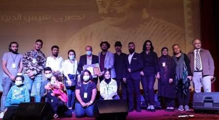 تكريم نصري شمس الدين في اختتام فعاليات مهرجان صور الموسيقي الدولي