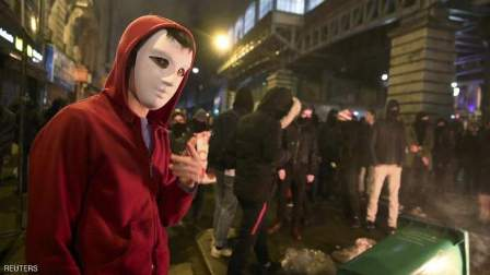 مظاهرات جديدة في باريس احتجاجا على إصلاحات بقانون العمل