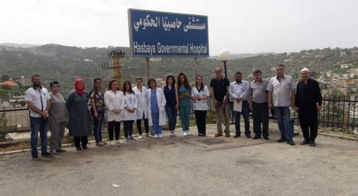 عاملو المستشفيات الحكومية:سنعطي فرصة للجنة الصحة لإعادتنا لكنف الوزارة